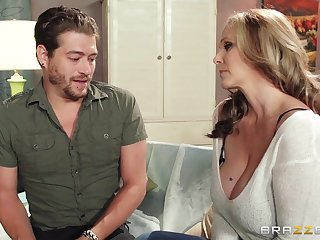 Mature chick Julia Ann wants up be fucked unconnected with say no to handsome neighbor
