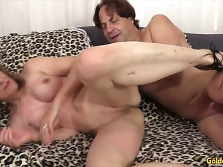 Golden Slut - Older Hotties Need past help Wall Compilation