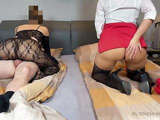cuckold operation love affair meeting with secretary - business-bitch