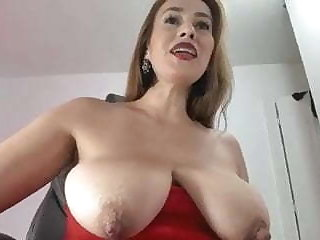 Redhead with stupendous nipples