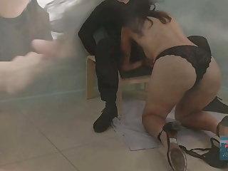 LPCouple : Hot Milf libertine makes me cum on her tits
