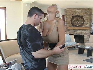 Fucking hot Spanish milf Bridgette B is cheating on her husband