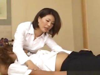 Japanese mature MILF immense nut