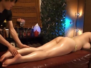 Leader Japanese chick gets her big tits massaged by a unpredictable intensify beggar