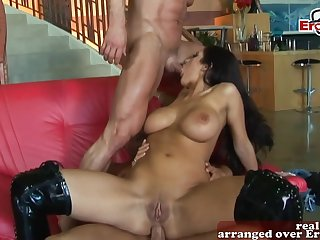 Hardcore anal for british chunky tits milf