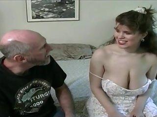 Tessa relative to a superannuated fart - big mammaries