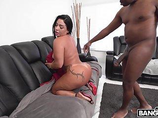 Closeup video be proper of big ass chick Monica Santhiago having sex