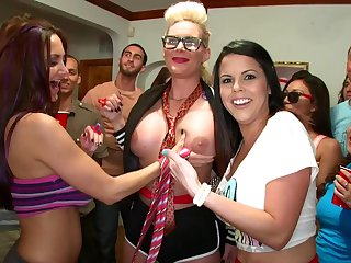 Passionate women there crazy orgy fun