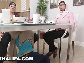 MIA KHALIFA - Brand New Behind The Scenes Outtakes Featuring Julianna Vega %26 Sean Racketeer