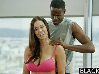 BLACKED Fitness Babe Kendra Desideratum Loves Huge Black Weasel words