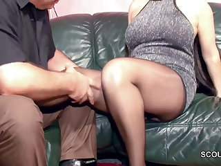 Perishable German MILF in Nylon get Fixed Fuck increased by Cum First of all