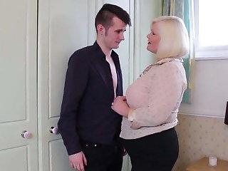 Granny fucked by young granny fucker