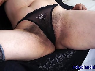 Over40 with hairy pussy! Fated by Roby Bianchi