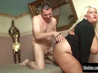 Very chunky german woman take cock