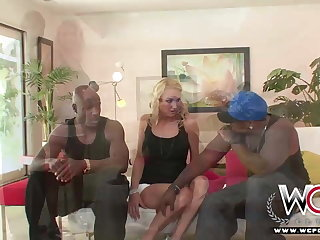 WCP CLUB Housewife Black Pinkish Anal Creampied