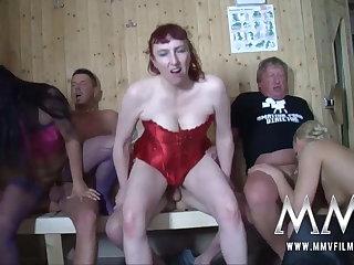 MMV FILMS German Bush-league Swinging Couples