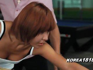 KOREA1818.COM - Korean Floozy MILF FUCKED at Pool Castle