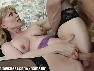 MommyBB Real Full-grown Woman fucking her STEPSON