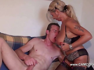 Hot german Milf get hard ass fucked by young womanhood