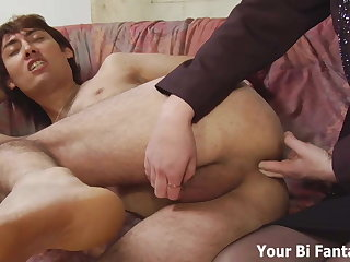 Asian manhandle gets a hot prostate massage