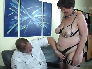 Fat mature slut needs some loving too and become absent-minded hustler can fuck for sure