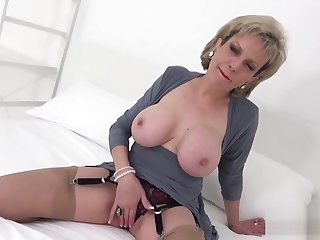 Unfaithful english milf lady sonia reveals will not hear of large jugs