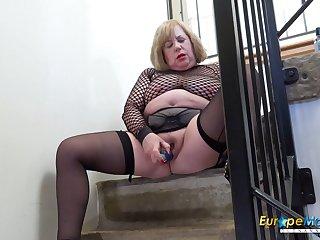 EuropeMaturE British Of age Pornstar Trisha Exclusively