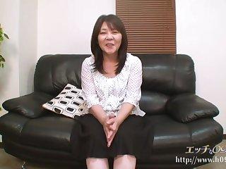 Asian granny not far from unscrupulous hair, Sayuri Nozawa got fucked hard, in the lead of the camera