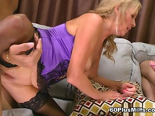 A Threesome For The Mom - Bethany James, Ivan Nukes, And Juan Largo - 60PlusMilfs