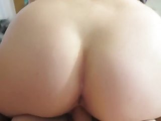 Kinky Maja - Bill Old woman Sucks and Fucks Son be fitting of a Wet blanket Creampie after Watching Porn together beyond a Movie Night