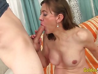 Blue-eyed Slut - Older Women Give the Best Blowjobs Compilation