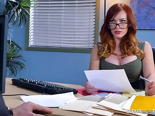 Great hard sex for the female boss in scenes of nutty XXX